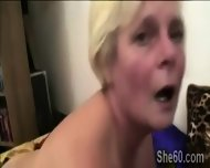 Fat Blonde Granny Rides A Young Piece Like A Young Slut - scene 6