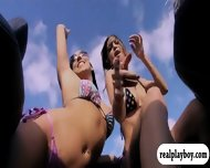 Watch These Gorgeous Babes Surfing With The Professionals - scene 11