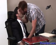 Mature Bears Officesex With His Co Worker - scene 1