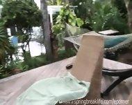 2 Girls Pool Side - scene 1