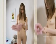 Striptease And Fingering For A Mirror - scene 8