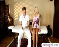 Big Tits Babe Full Package Of A Nice Massage And Hard Fuck - scene 2