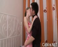 Curvy Beauty Gives Wild Fellatio - scene 1