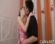 Curvy Beauty Gives Wild Fellatio - scene 2