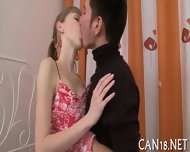 Curvy Beauty Gives Wild Fellatio - scene 3