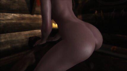 My bitch enjoying my monster dick in her virgin penetration