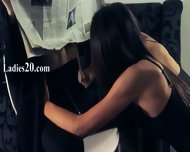 Hot Babes Loving With Strap In Garters - scene 1