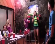 College Groupsex Fuck At The Party - scene 2