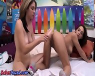 Teen Initiation Dildo Fun - scene 10