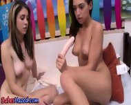 Teen Initiation Dildo Fun - scene 4
