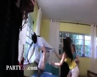 Three Young Teens Fucking With Burglar - scene 4