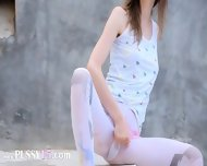 Bewitching Peening Of Super Skinny Girl - scene 4