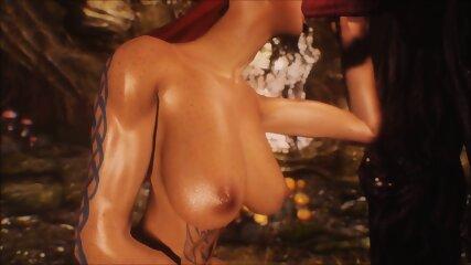 Hottest Huge Cock Fantasy monster 3d video BDSM