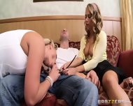 Hot Blondes Suck Big Cock - scene 12
