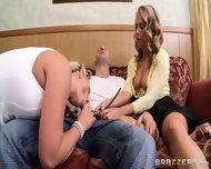 Hot Blondes Suck Big Cock - scene 12