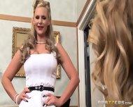 Hot Blondes Suck Big Cock - scene 2