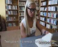 Ass Humping Broke Teen In Library - scene 3