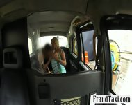 Huge Boobs Amateur Blonde Chick Fucked With Fake Driver - scene 5