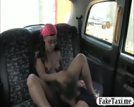 Tiny Black Girl Pussy Fucked With Fraud Driver In The Cab - scene 5
