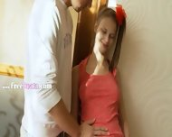 Busty Russian Teen Having Ass Toyed - scene 1