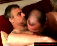 Three Straight Mature Bears Gay Sucking - scene 1