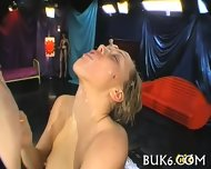 Group Pissing On Lusty Beauty - scene 11