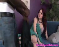 Jessica Ryan Drinking Interracial Juice - scene 3
