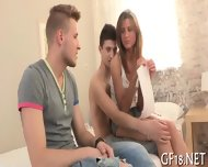 Stud Shares His Hot Babe - scene 11
