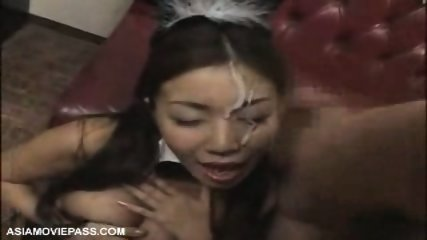 Bukkake - Asian Playboy Bunny