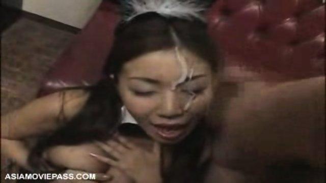 Bukkake - Asian Playboy Bunny