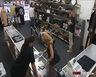 Amateur Chick Screwed Up With Pawn Man At The Pawnshop - scene 2