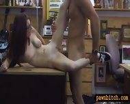 Big Natural Tits Chick In Glasses Pawns Her Pussy To Earn Money - scene 9