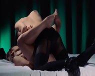 Lesbian Strap On Hardcore Intercourse - scene 5