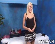 Big Cock Lances Wet Shaved Pussy - scene 2