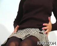 Caramel Chick In Pantyhose - scene 3