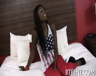 Interracial Sex Session With Hot Chick - scene 3