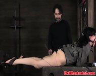 Gagged Sub Getting Shock Treatment - scene 6