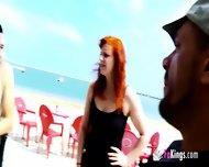 Hardcore Outdoor Sex With Redhead Whore - scene 1