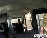 Huge Boobs Biatch Fucked In The Backseat For A Free Fare - scene 4