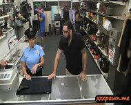 Big Tits Latina Police Officer Pawned Her Pussy To Earn Cash - scene 4