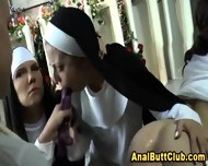 Nuns Ass Toy Sinning Slut - scene 4