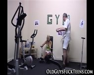 Teen Fingered By Old Man - scene 3