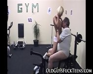 Teen Fingered By Old Man - scene 7