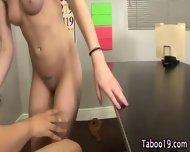 Step Sis Teen Cummed On - scene 7