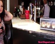 Glam Anal Eurobabe Fucks Barman When Stood Up - scene 1