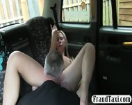 Big Boobs Amateur Blonde Girl Tricked By Driver And Fucked - scene 8