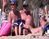 Mature Amateur Couples On The Nude Beach Sucking And Fucking - scene 5