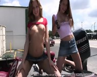 Public Nudity Traffic Flashing - scene 2