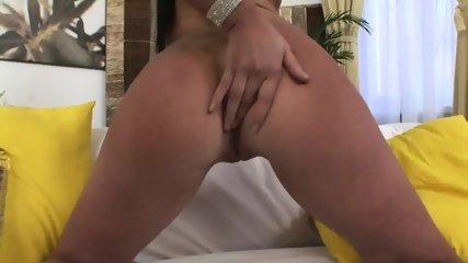 Big Dildo And Stiff Cock In Her Anus - scene 2