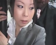 Young Officegirl Groped By Black Stranger - scene 2